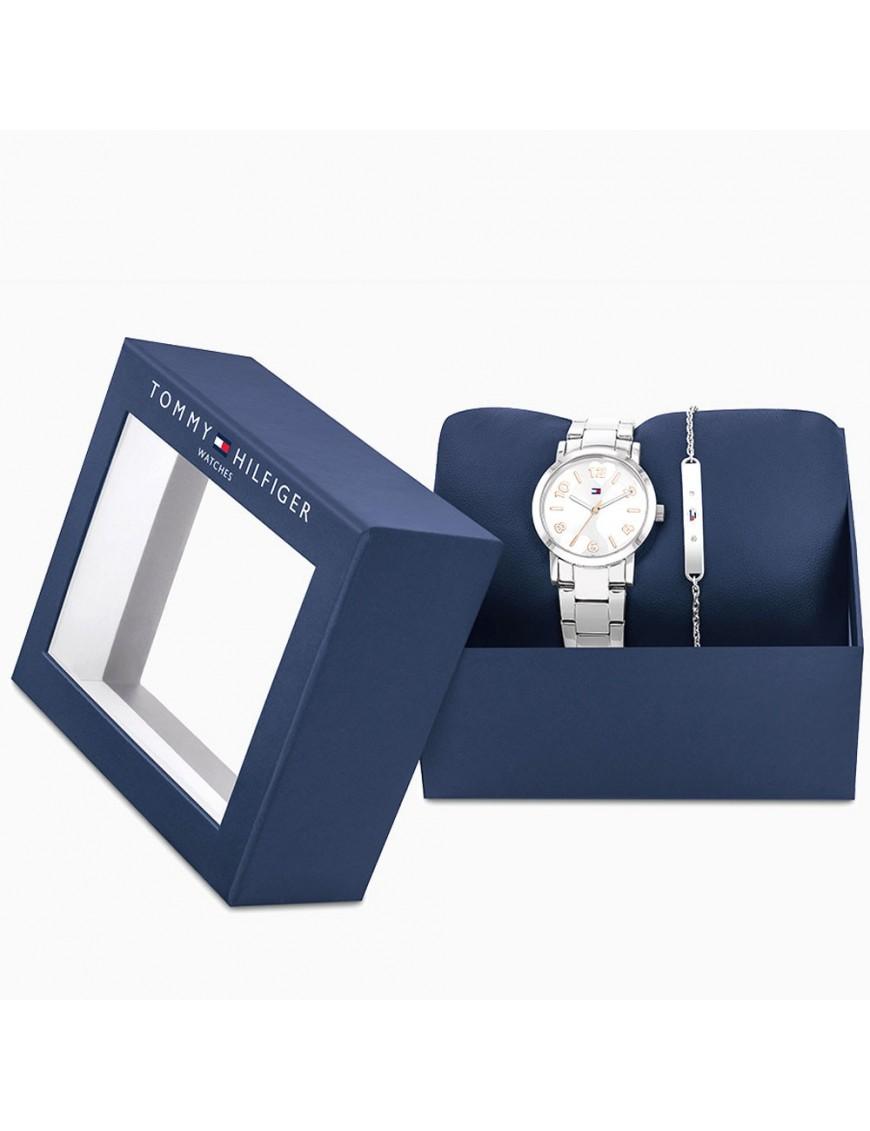 Pack Reloj + pulsera Tommy Hilfiger niña 2770049