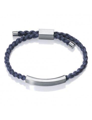 Pulsera Viceroy cordón y Acero Hombre 75111P01013