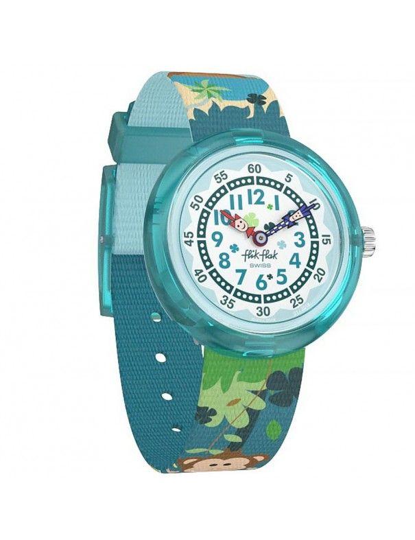 Reloj Flik Flak Monkeynesia FBNP128