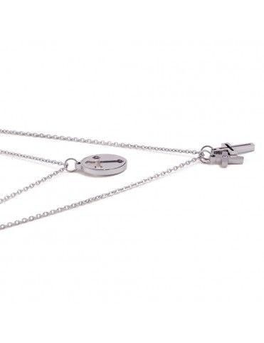 Collar Anartxy Acero Mujer COA589