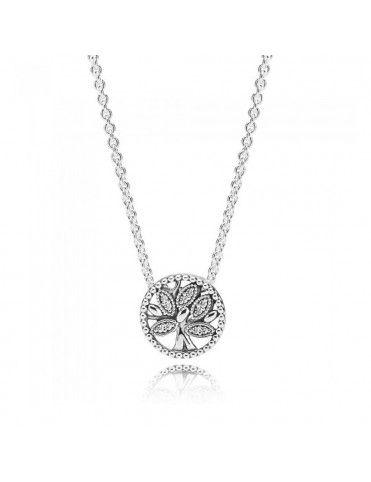 Comprar Collar Pandora Plata Árbol de la Vida 397780CZ-45 online