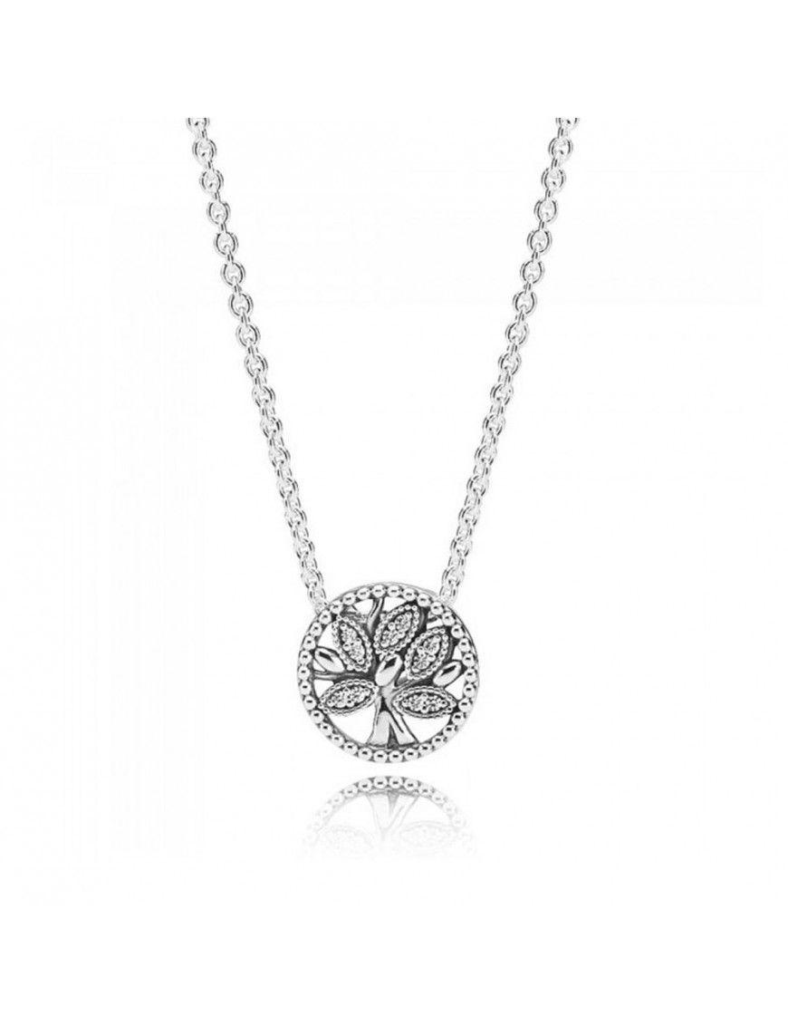 Collar Pandora Plata Árbol de la Vida 397780CZ-45