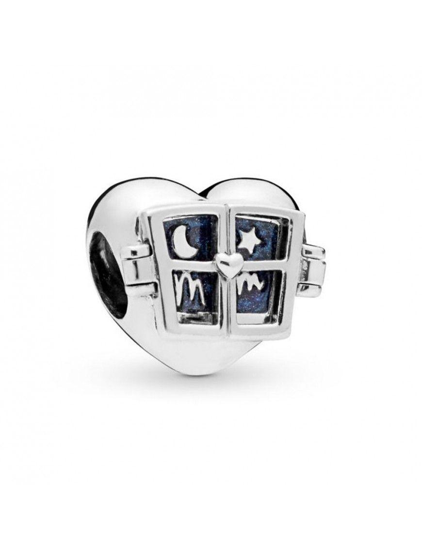 Charm Pandora Plata Corazón con ventana 798006EN63
