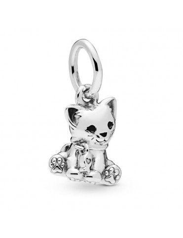Comprar Charm Pandora plata gato 798011EN16 online
