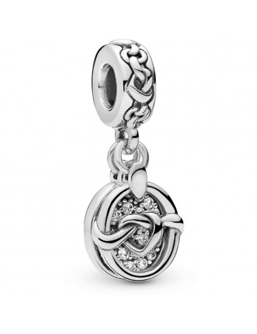 Comprar Charm colgante corazones anudados 798095CZ online