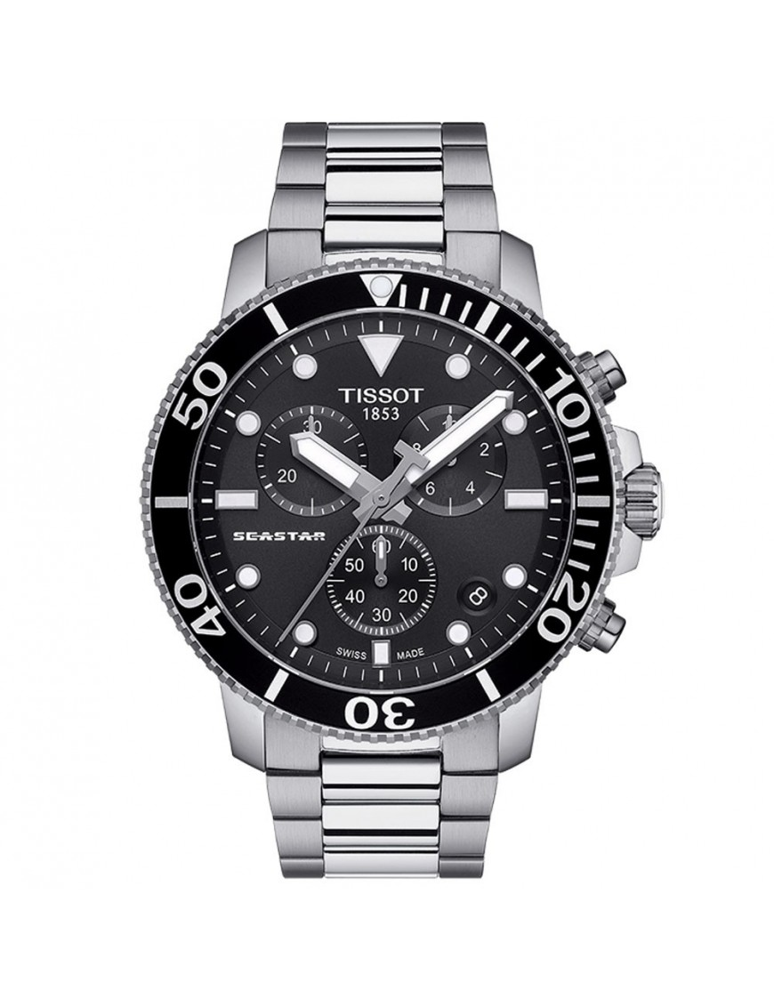 Reloj Tissot Hombre Seastar 1000 chronographt T120.417.11.051.00