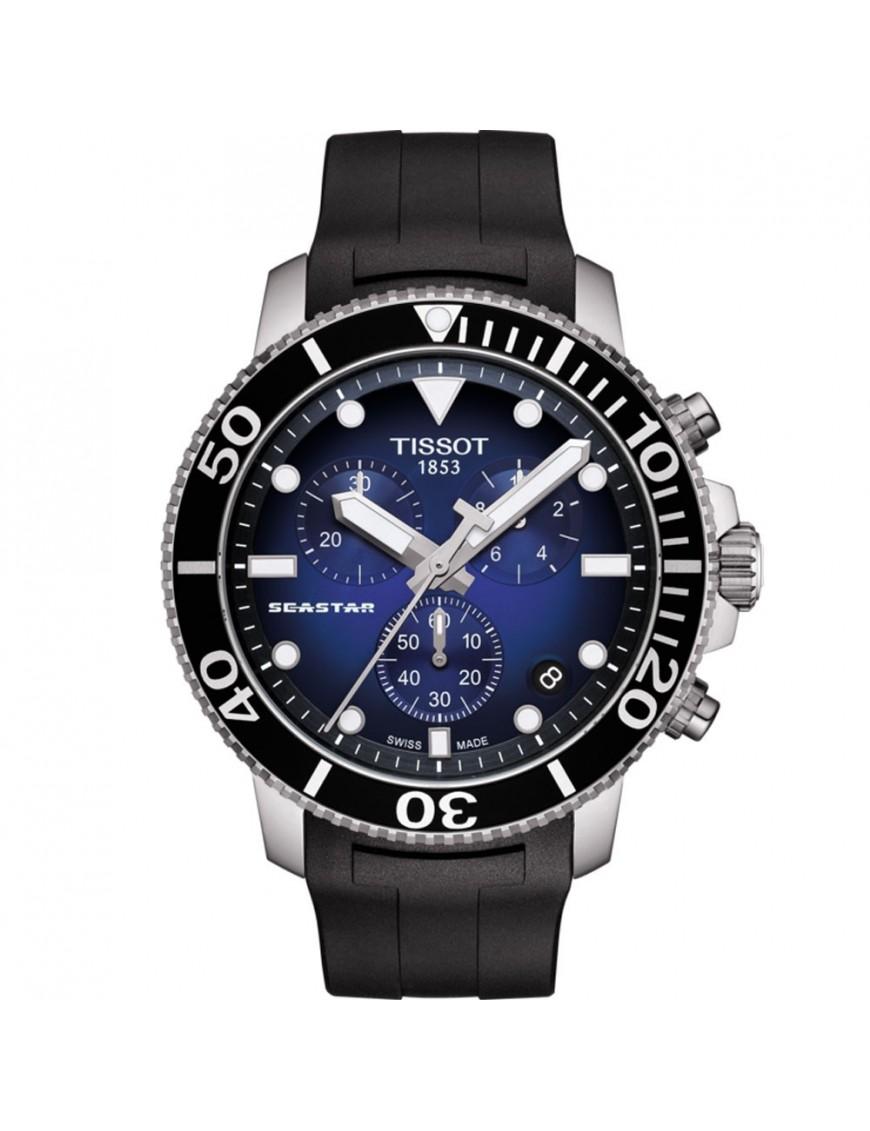 Reloj Tissot Hombre Seastar 1000 chronographt T120.417.17.041.00