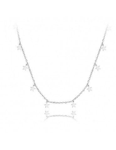 Collar Plata Estrellas 174538