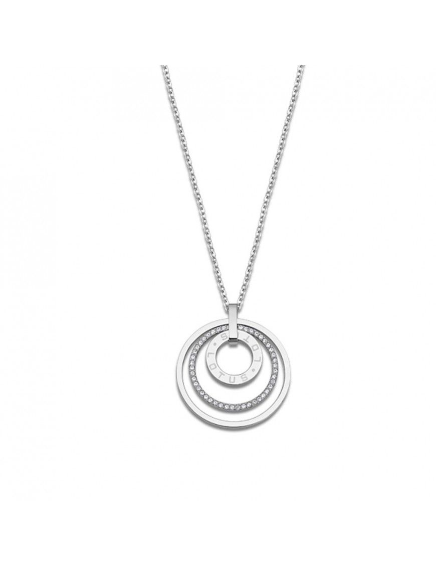 Collar Lotus Style Mujer Acero LS2091-1/1