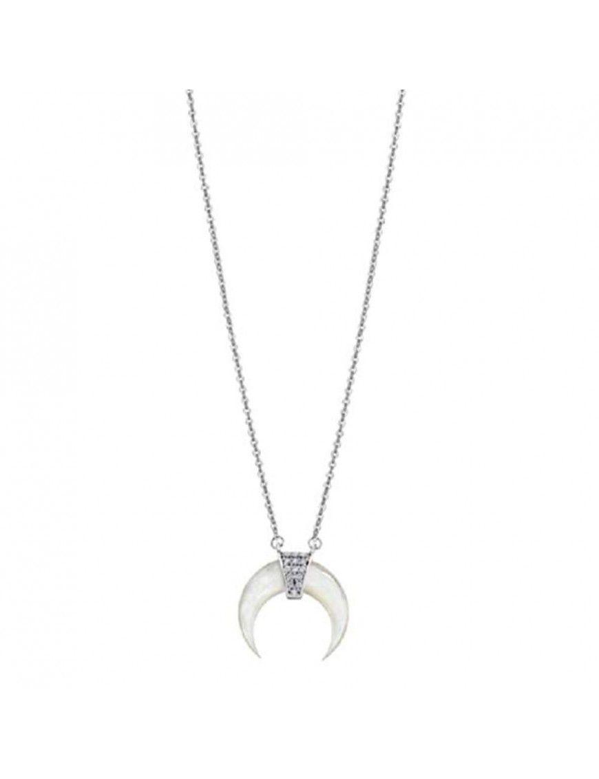 Collar Lotus Silver Mujer LP1959-1/1