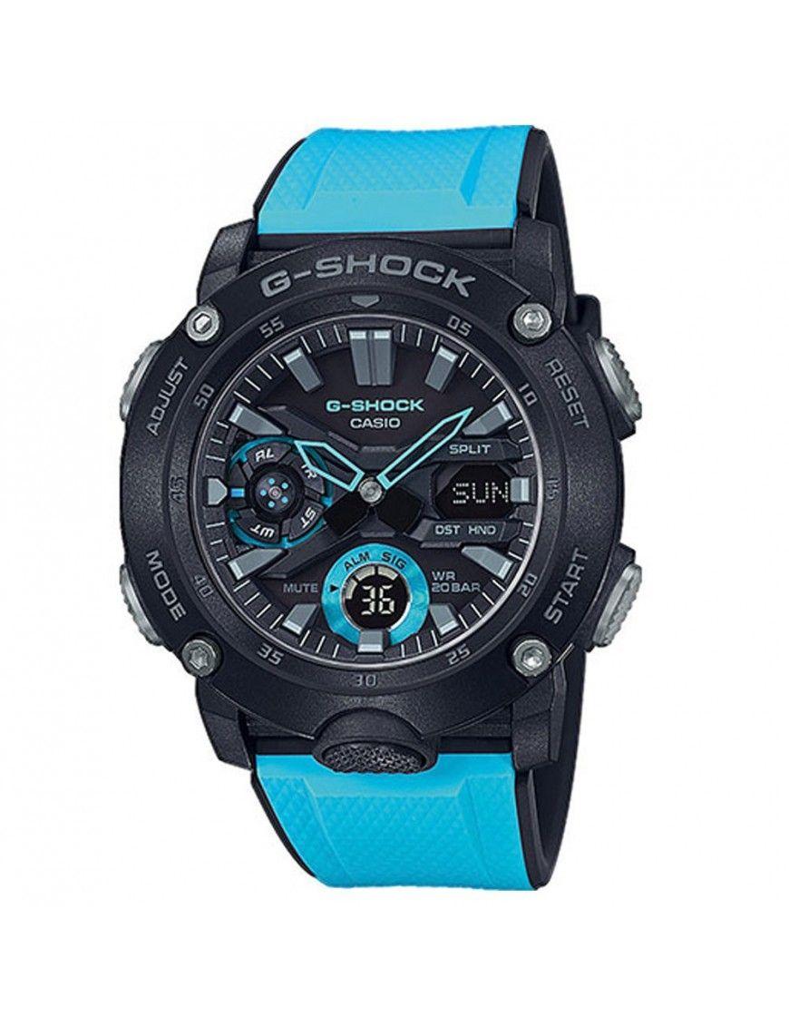 Reloj Casio G-Shock Hombre Carbono GA-2000-1A2ER