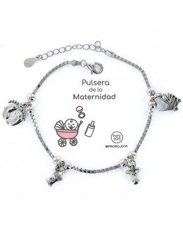 Pulsera plata Mujer Maternidad 9101773