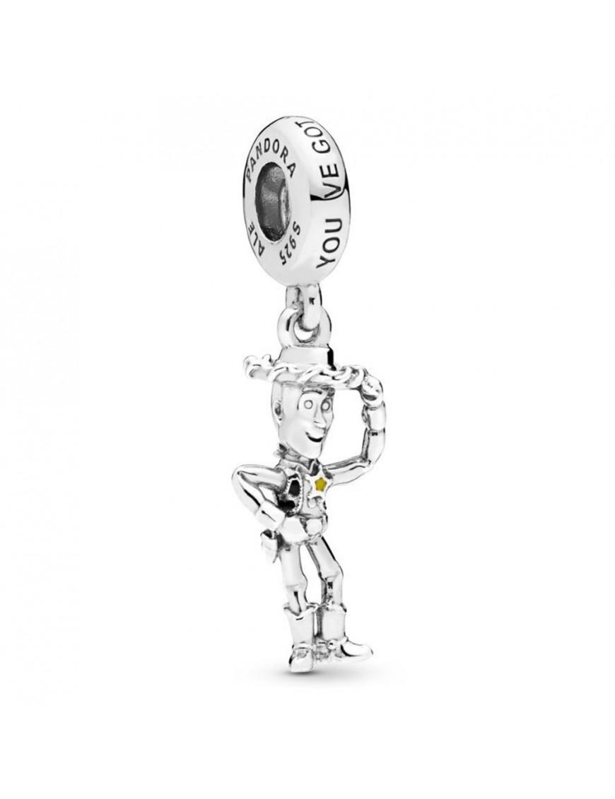 Charm colgante Plata Pandora Woody de Toy Story 798041ENMX