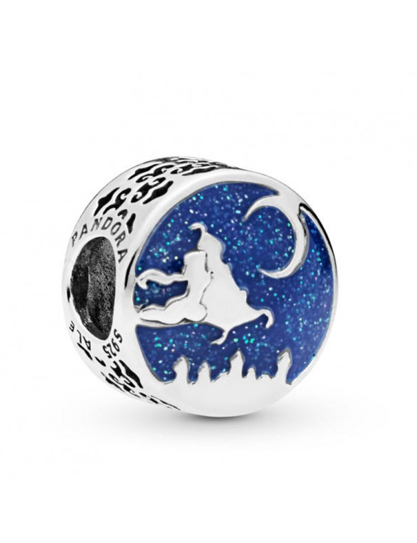 """Charm Pandora plata 798061CZ """"Live life in the clouds"""