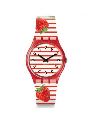 e8914fcdabe6 Reloj Swatch Mujer Toile Fraisee GR177