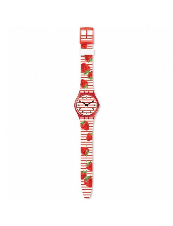Reloj Swatch Mujer Toile Fraisee GR177