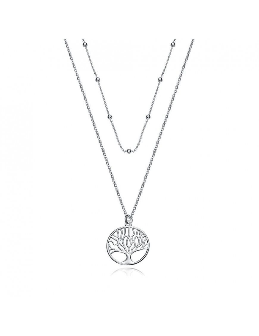 Collar Viceroy Plata Mujer árbol de la vida 1318C000-08