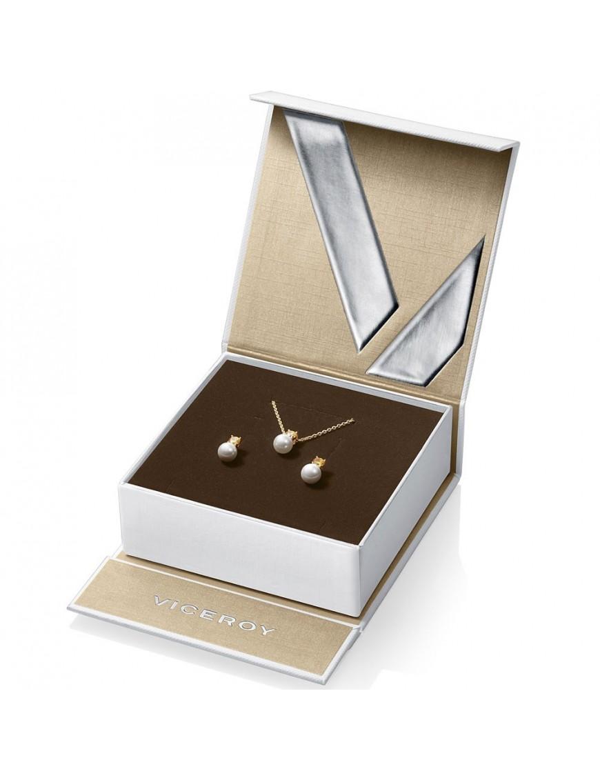 Pack collar y Pendientes Viceroy Plata Mujer 21017K100-33