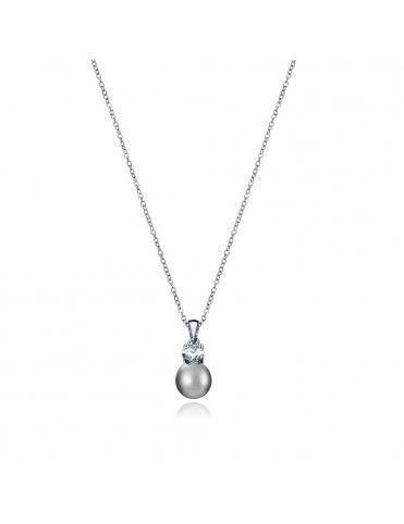 Collar plata mujer perla 5054C000-65