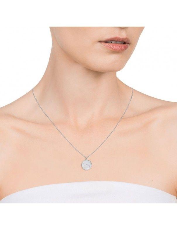 Collar plata mujer Horóscopo Acuario Viceroy 61014C000-38A