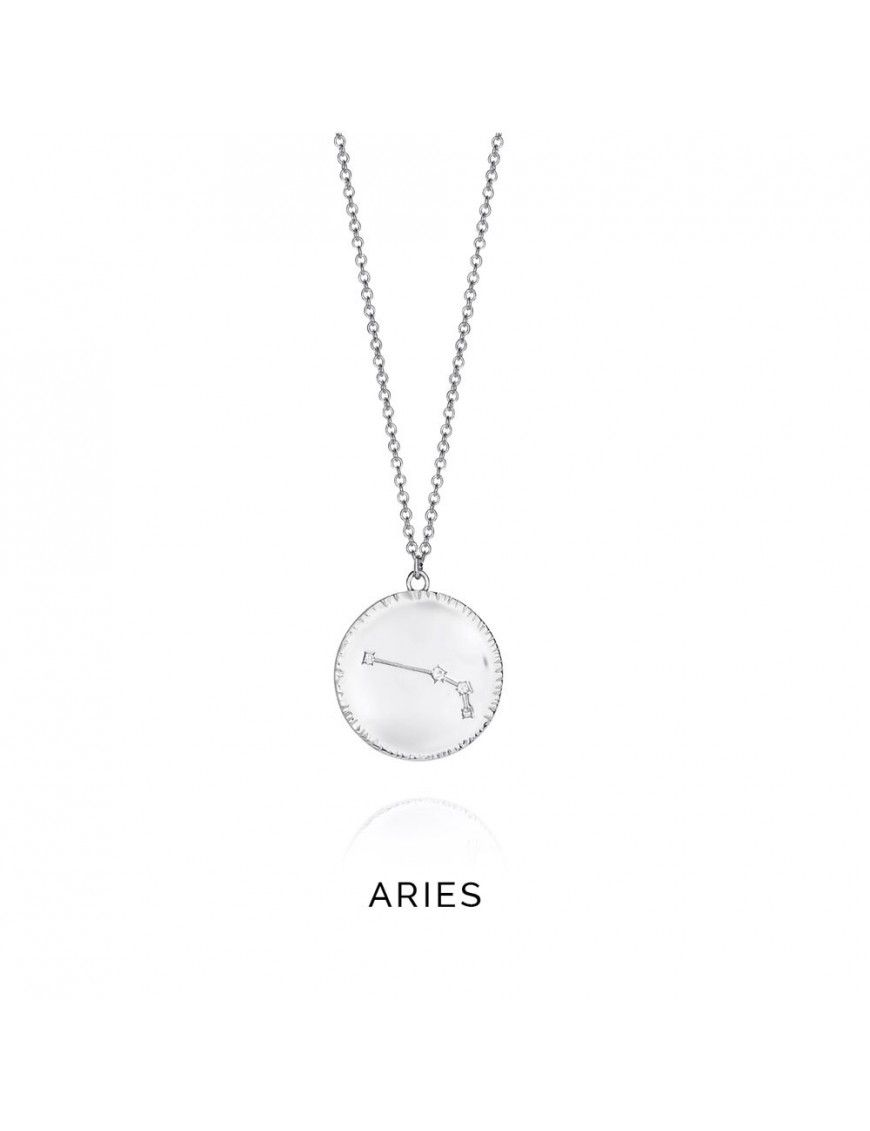 Collar plata mujer Horóscopo Aries Viceroy 61014C000-38AR