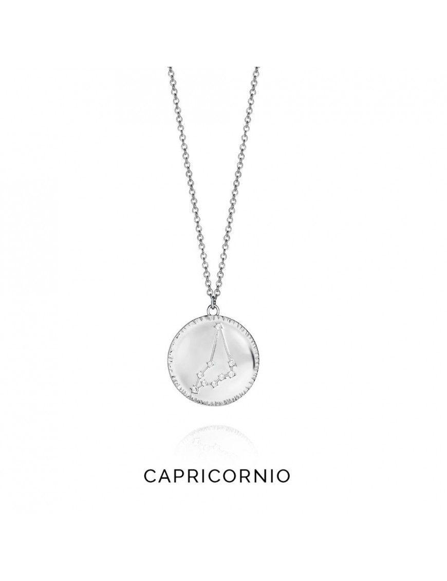 Collar plata mujer Horóscopo Capricornio Viceroy 61014C000-38C