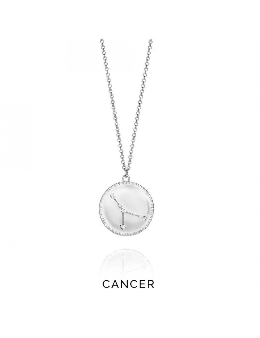 Collar plata mujer Horóscopo Cáncer Viceroy 61014C000-38CA