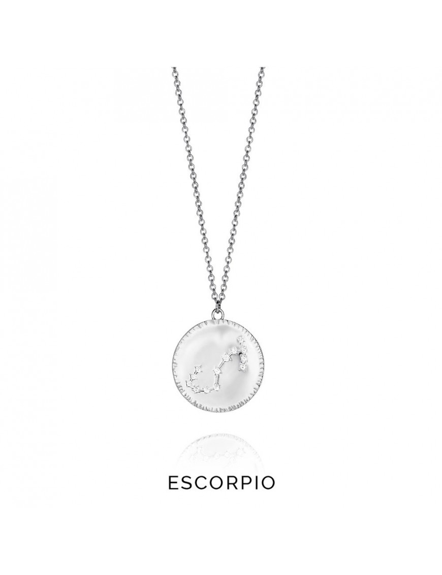 Collar plata mujer Horóscopo Escorpio Viceroy 61014C000-38E