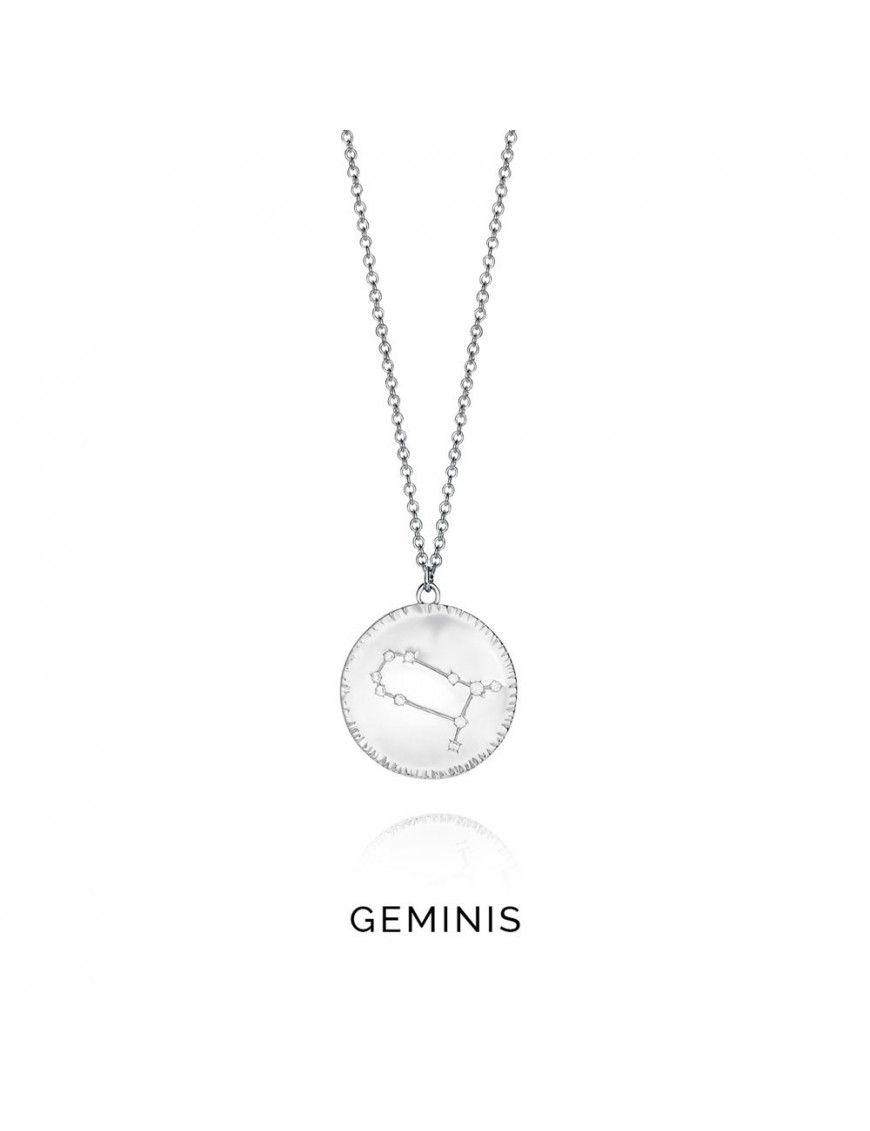 Collar plata mujer Horóscopo Géminis Viceroy 61014C000-38G