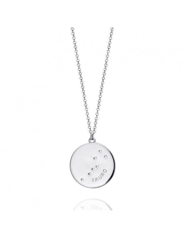 Collar plata mujer Horóscopo Tauro Viceroy 61014C000-38T