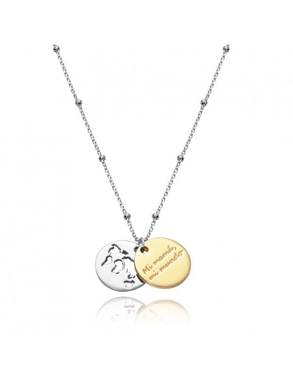 Collar Viceroy Plata doble Mujer mama 85003C100-09