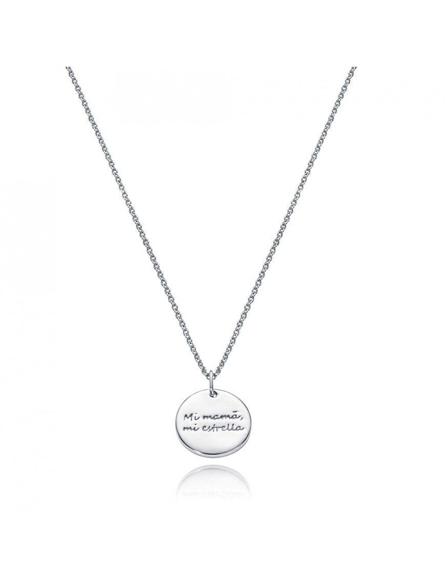 Collar plata mujer día de la madre Viceroy 85005C000-30