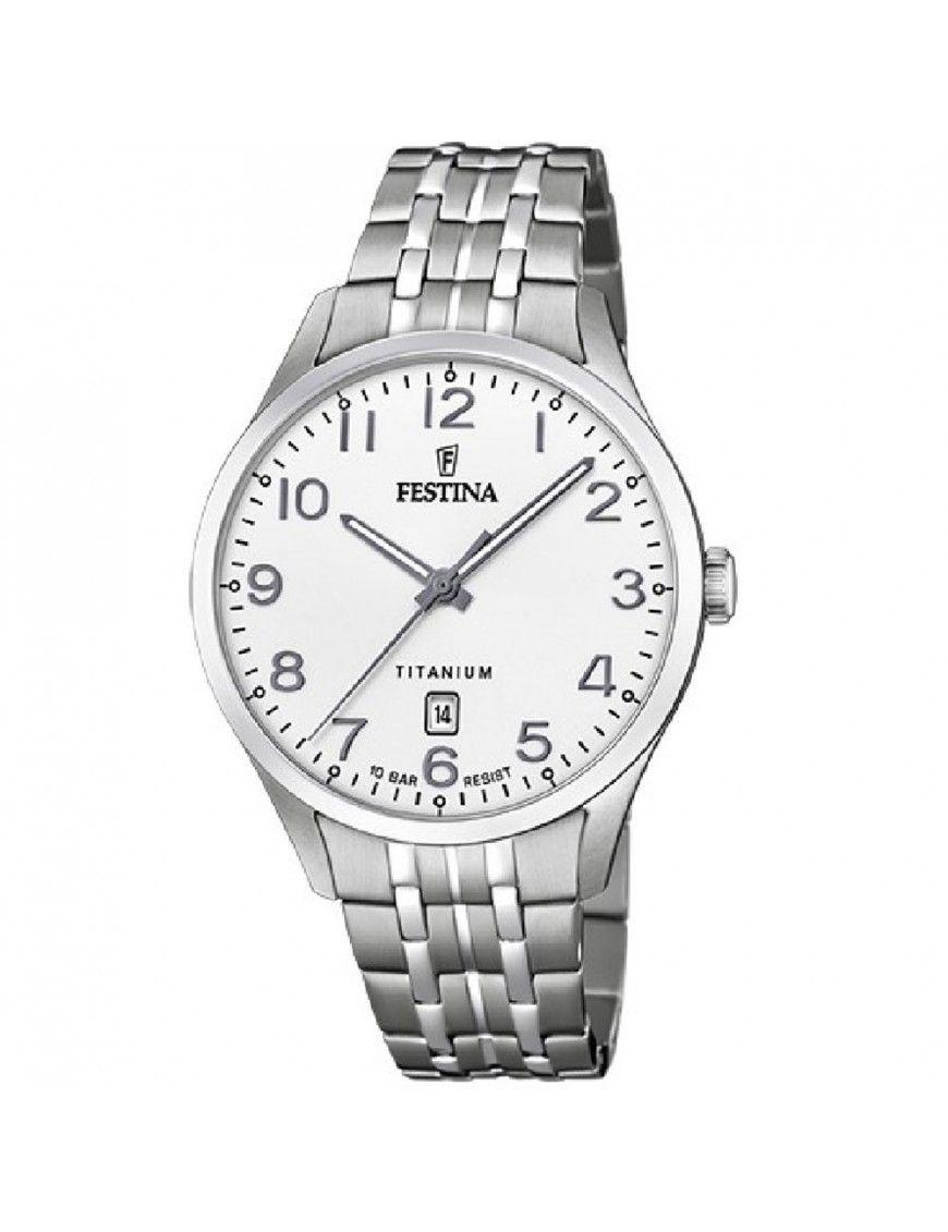 Reloj Festina Hombre Calendario Titanium F20466/1