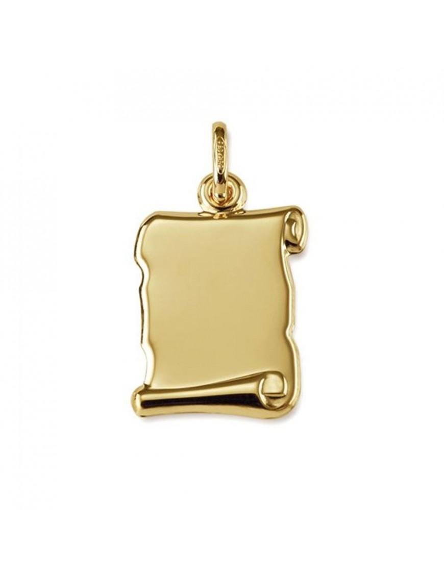 Chapa pergamino Oro amarillo de 18 quilates 211943/13