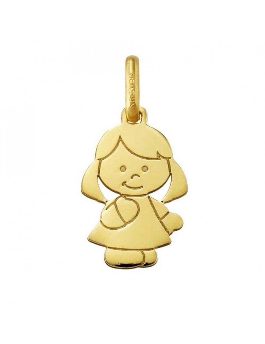 Colgante Oro amarillo 18K niña 240424/13