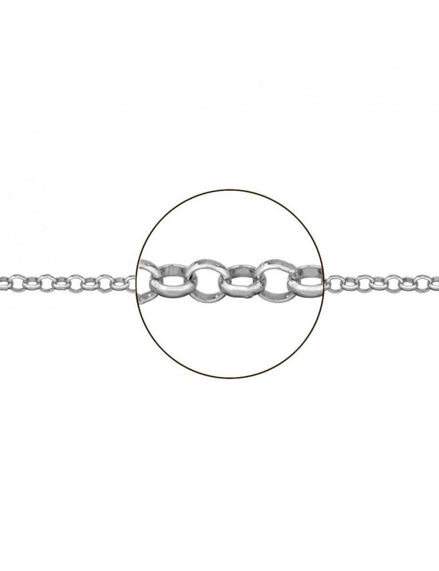 Cadena plata Rolo 45 cm JP010002