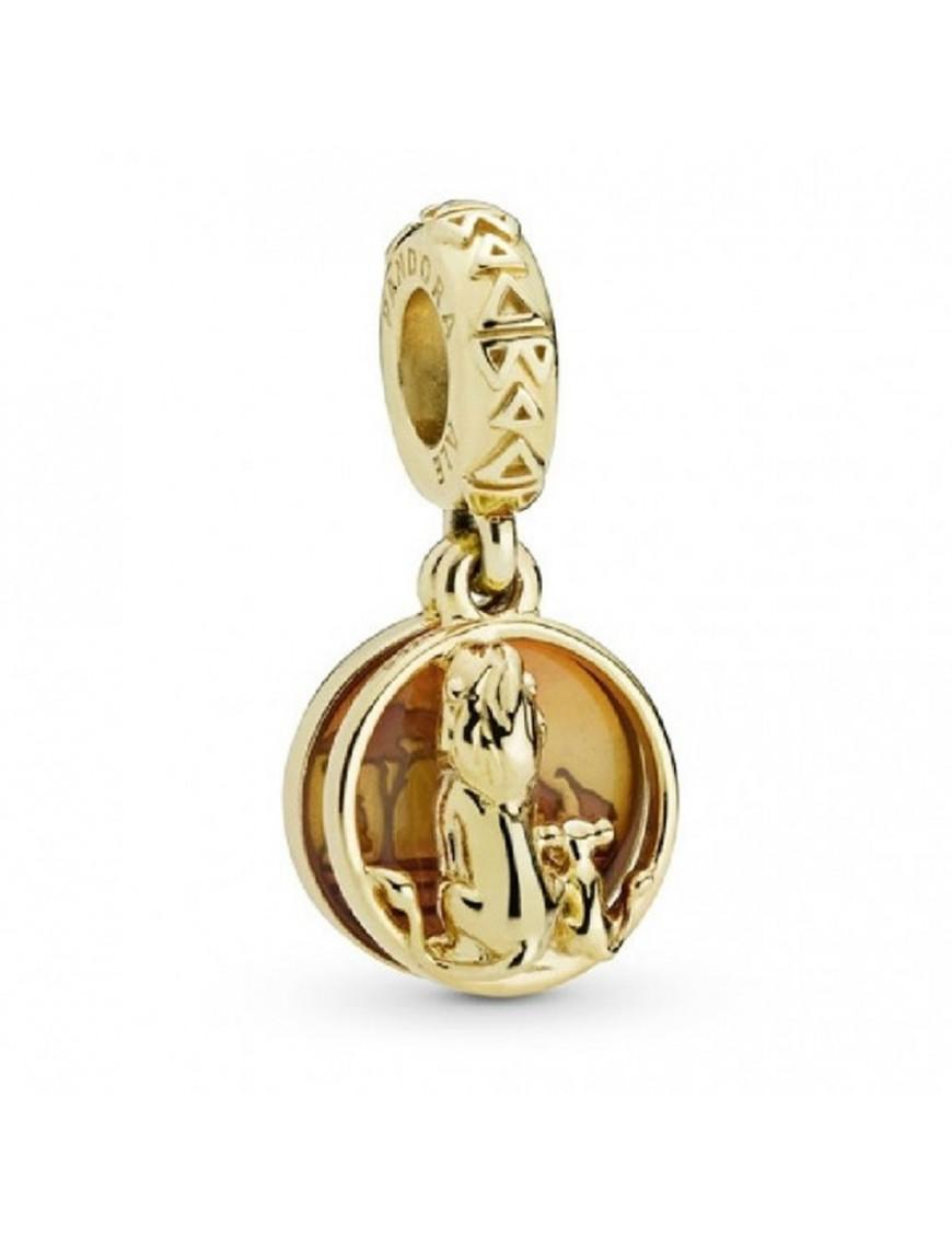 Charm colgante Pandora plata Shine Simba y Mufasa 768262ENMX