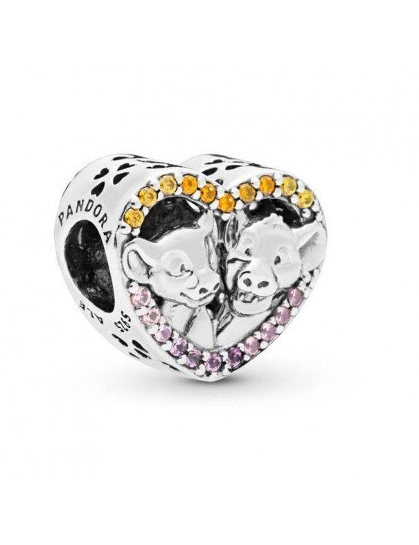 Charm Pandora Corazón Simba&Nala 798044NPRMX