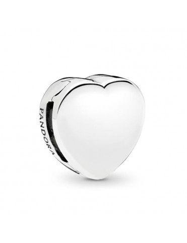 Charm Clip Pandora Plata Corazón reflexions 797620
