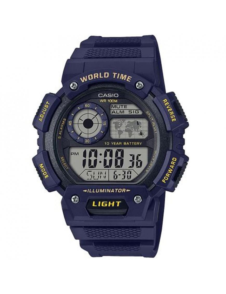 Reloj Casio cronógrafo hombre AE-1400WH-2AVEF