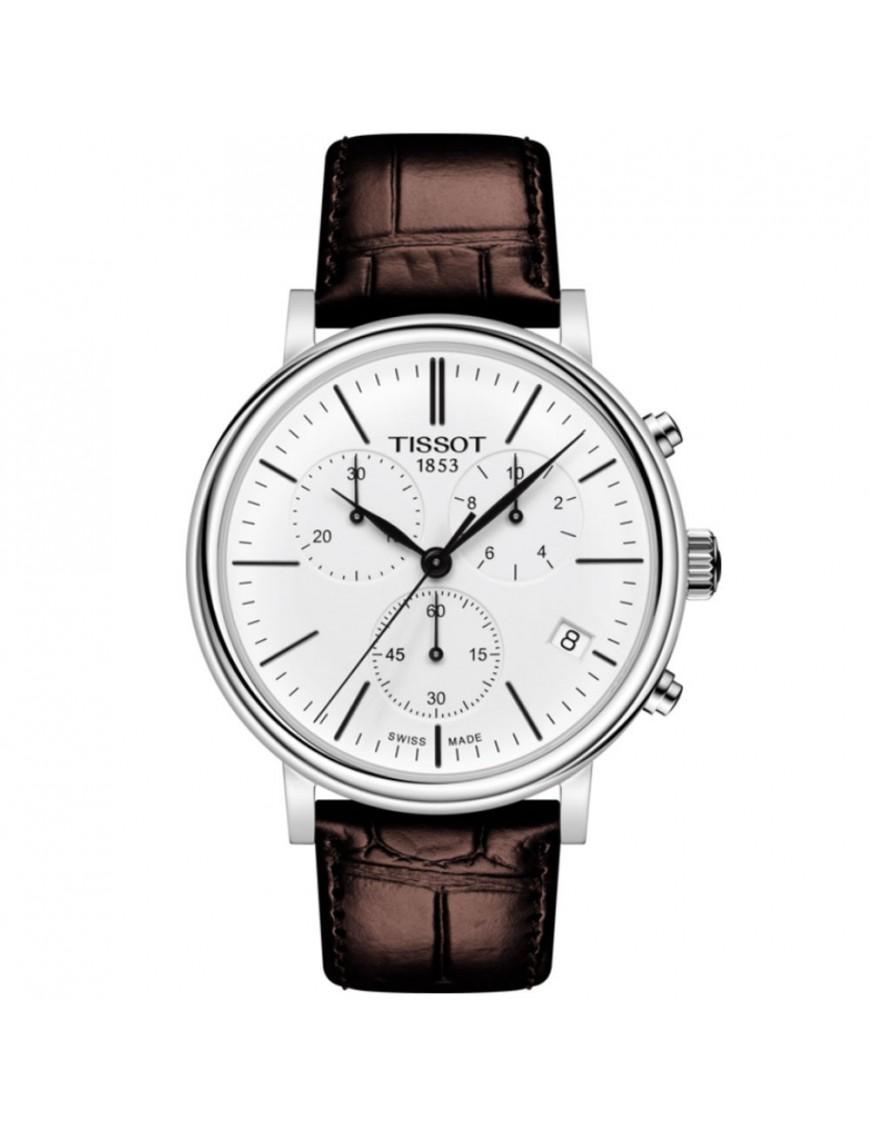 Reloj Tissot Hombre Carson Premium cronógrafo T122.417.16.011.00
