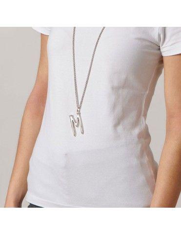 Collar Unode50 letra M y perla CHA0013&0080&COL1364