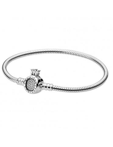 Comprar Pulsera Pandora Rígida Corona circonitas 598286CZ-18 online