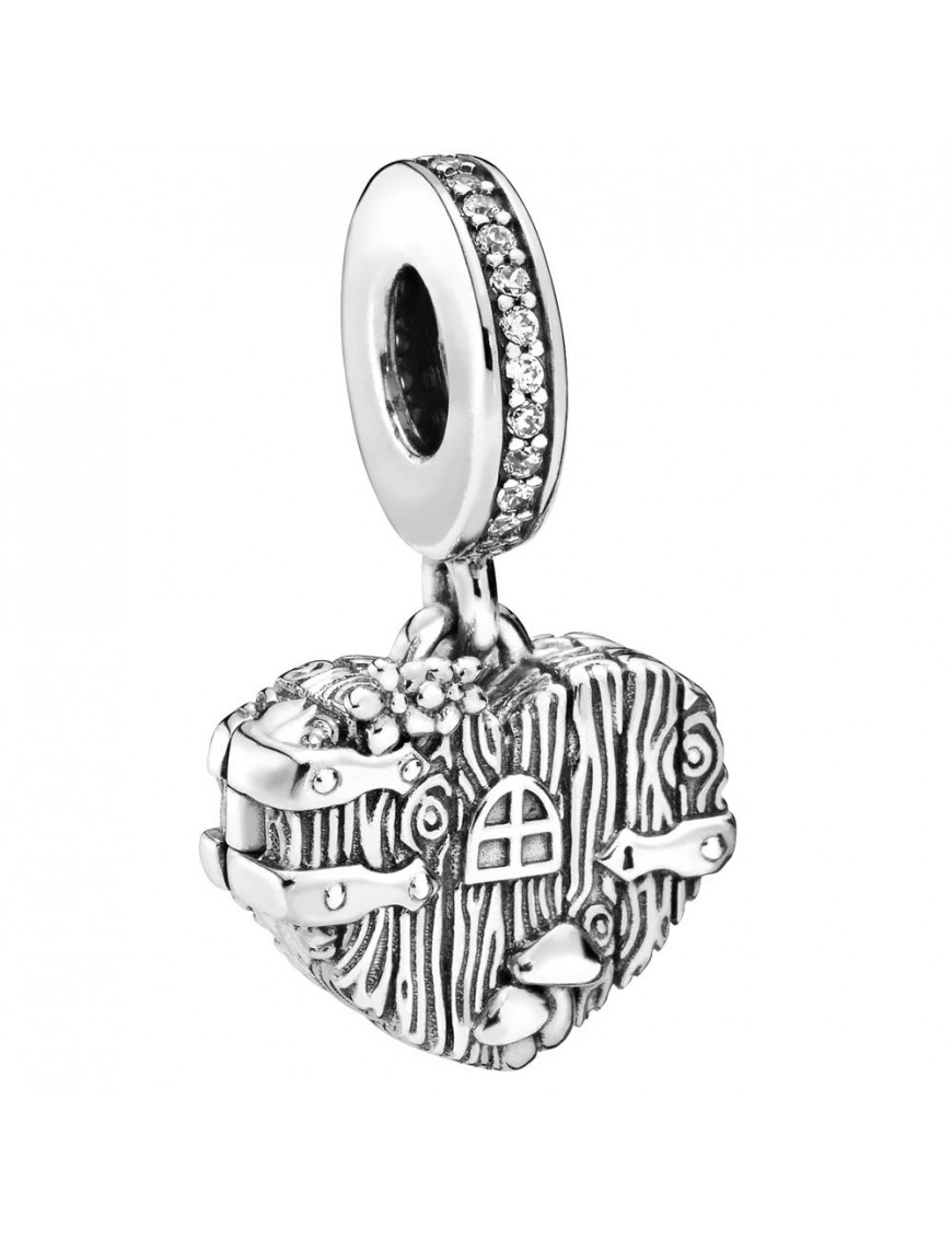 Charm Pandora colgante corazón 798284CZ