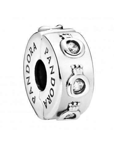 Comprar Charm-clip Pandora Plata coronas 798326CZ online