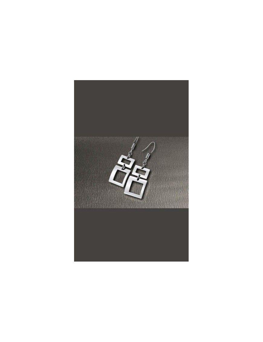 PENDIENTE LOTUS STYLE ACERO MUJER LS1166-4/1