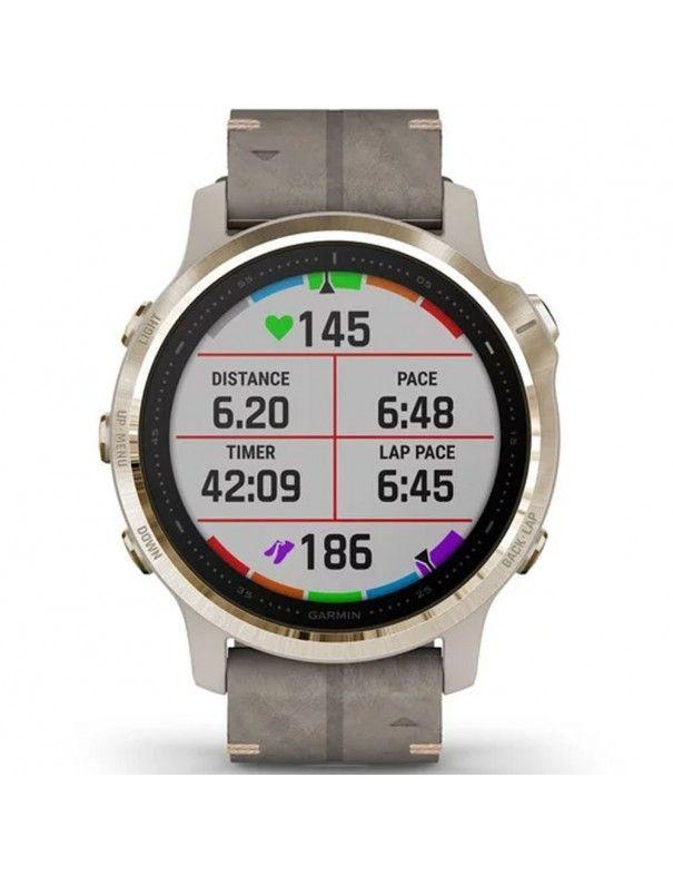 Reloj Garmin Fenix 6s Sapphire titanio 010-02159-40