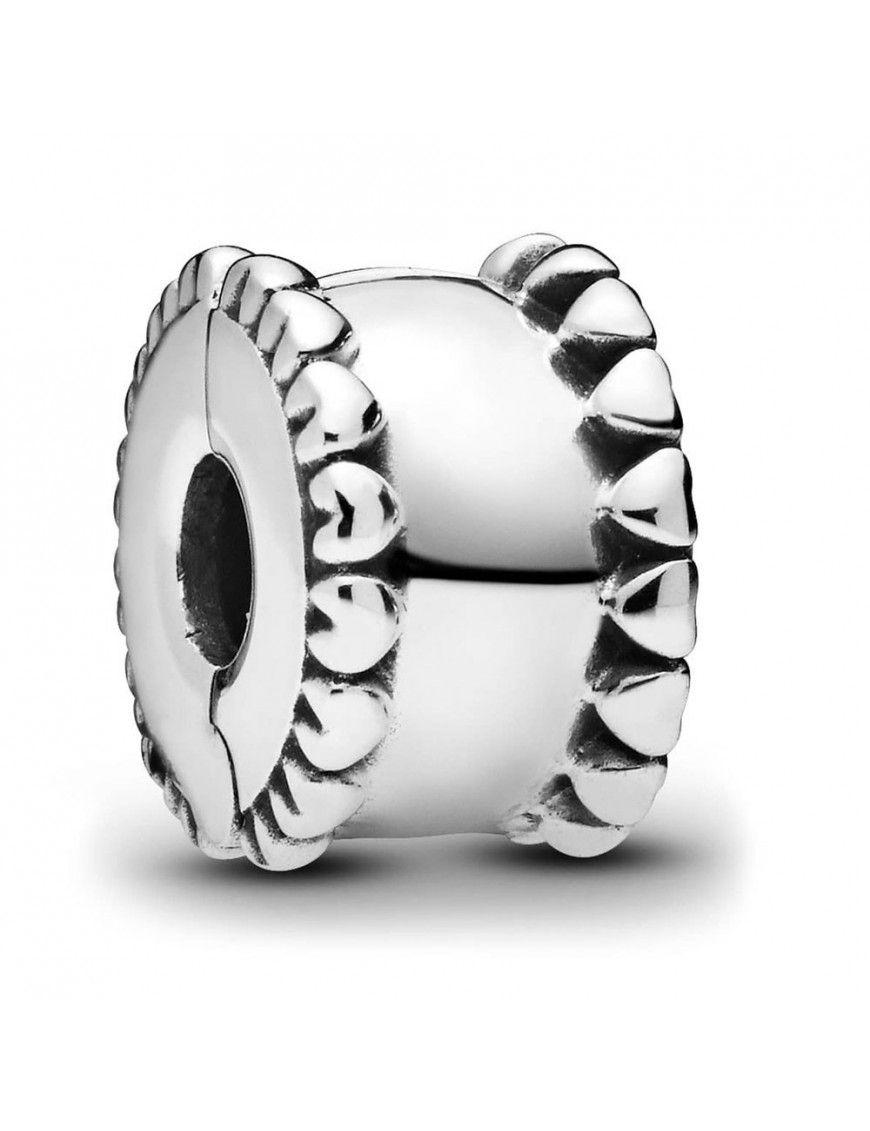 Clip-Charm Pandora Banda de corazones 798560C00