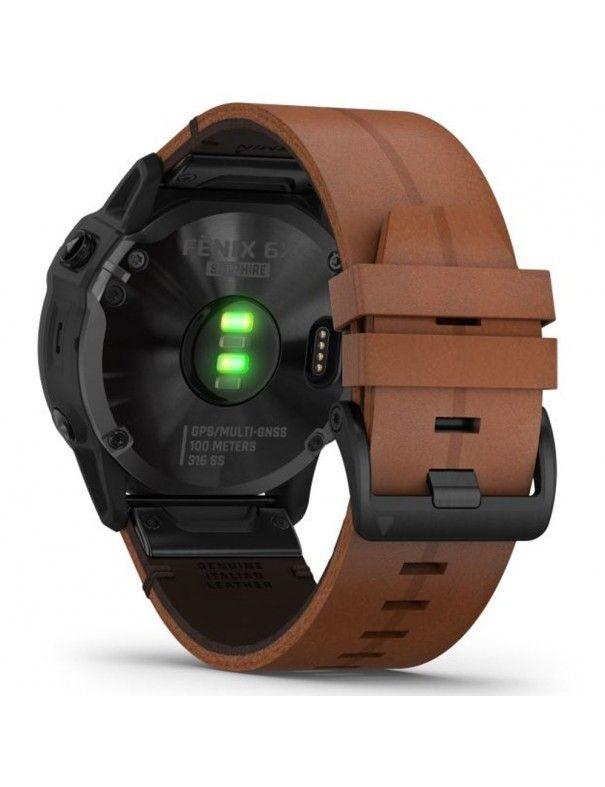 Reloj Garmin Fenix 6x Sapphire + correa  010-02157-14