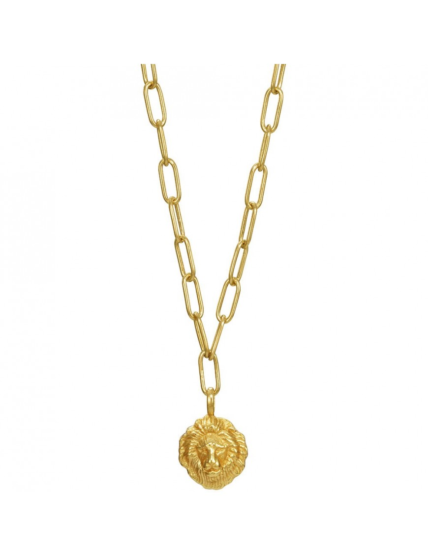 Collar Viceroy Plata Mujer león 61023C100-06